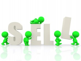 http://www.dreamstime.com/stock-photo-3d-people-around-word-sell-image14938280